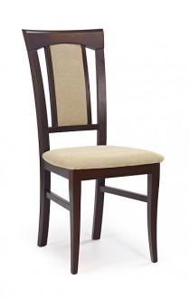 Krzesło drewniane Konrad ciemny orzech