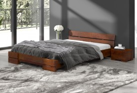 Łóżko sosnowe Visby Sandemo