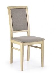 Klasyczne krzesło drewniane Sylwek 1 dąb sonoma