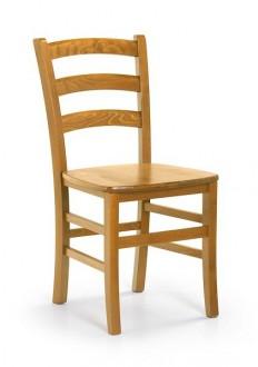 Stylowe drewniane krzesło do jadalni Rafo