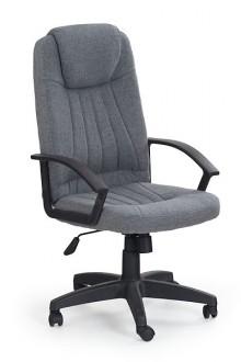 Szare krzesło biurowe Rino