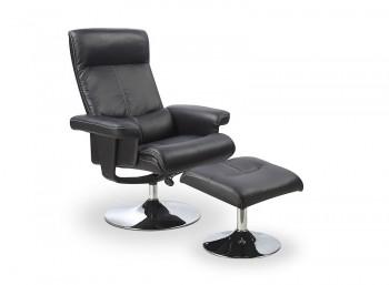Fotel rozkładany z podnóżkiem Dayton