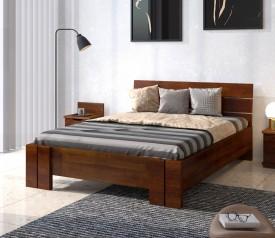Łóżko sosnowe Visby Arhus High