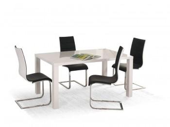 Rozkładany lakierowany stół Ronald 120-160