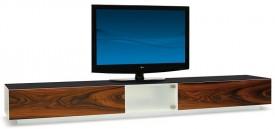 Stolik TV w naturalnej okleinie Swing S525