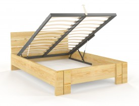 Łóżko sosnowe Visby Arhus High BC
