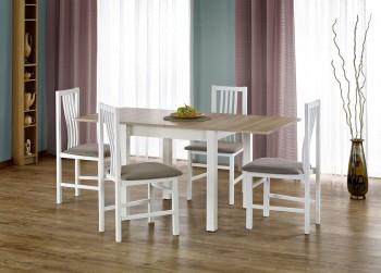 Rozkładany stół Gracjan z białymi nogami