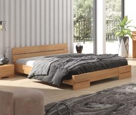Łóżko bukowe Visby Sandemo