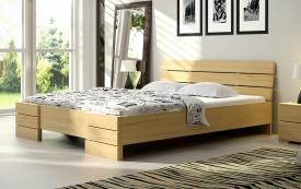 Łóżko sosnowe Visby Sandemo High