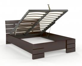 Łóżko bukowe Visby Sandemo High BC