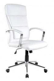 Biały fotel biurowy Aurelius