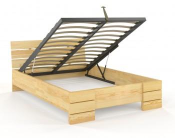 Łóżko sosnowe Visby Sandemo High BC