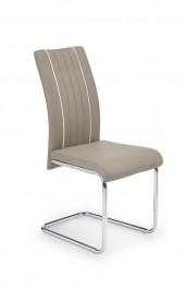 Beżowe krzesło na płozach K193