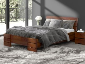 Łóżko sosnowe Visby Sandemo High & Long