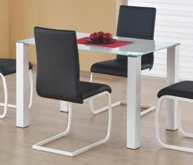 Stół ze szklanym blatem Merlot prostokąt
