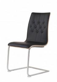 Pikowane krzesło na płozach K190