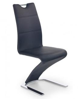 Wysokie krzesło z rączką na płozach K188