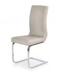 Tapicerowane krzesło na płozach K219