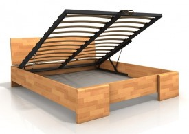 Łóżko bukowe Visby Hessler High BC