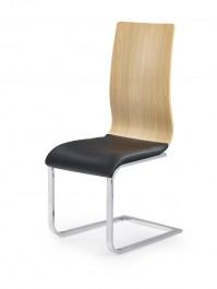 Krzesło na płozach z tapicerowanym siedziskiem K222