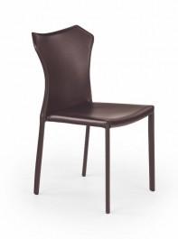 Ciemno brązowe krzesło do jadalni K208