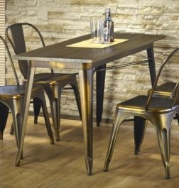 Stylizowany nierozkładany stół Magnum YC prostokąt