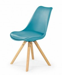 Krzesło na drewnianych nogach do jadalni K201