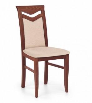 Drewniane krzesło Citrone czereśnia antyczna