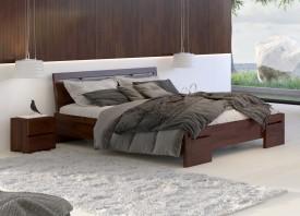 Łóżko sosnowe Visby Salerno High