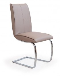Tapicerowane krzesło na płozach K177