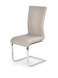 Tapicerowane krzesło na płozach K218