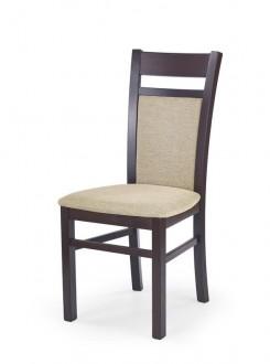 Klasyczne drewniane krzesło Gerard 2 ciemny orzech