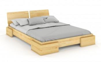 Łóżko sosnowe Visby Argento
