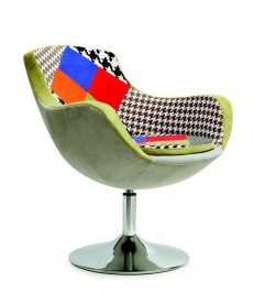Wygodny fotel wypoczynkowy do salonu Origami
