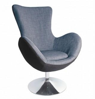 Elegancki fotel wypoczynkowy do salonu Butterfly