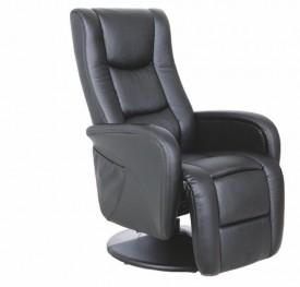Rozkładany fotel z funkcją masażu i podgrzewania Pulsar
