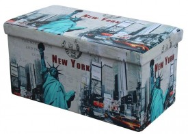 Duża pufa Moly XL New York