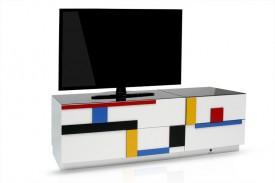Nowoczesny stolik RTV Blues B07 Mondrian