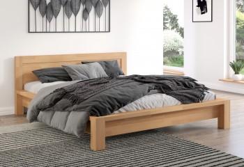 Łóżko bukowe Visby Molde