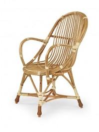 Wiklinowe krzesło ogrodowe Wicker