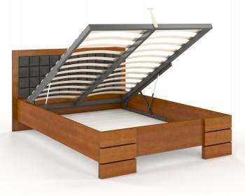 Łóżko sosnowe Visby Gotland High BC