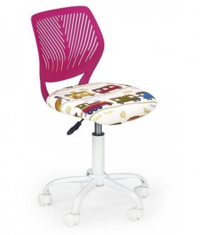 Kolorowe obrotowe krzesło dziecięce Bali