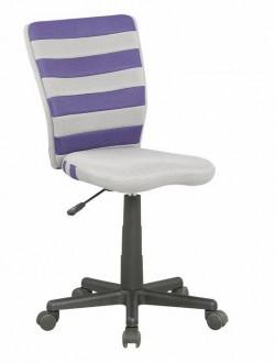 Obrotowe krzesło dziecięce z paskami Fuego
