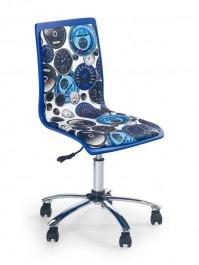 Kolorowe krzesło bez podłokietników Fun-8