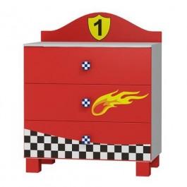 Komoda samochód Super Speed 3 szuflady KM-SP I