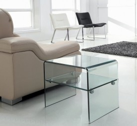Stolik ze szkła giętego Ideal Piccolo
