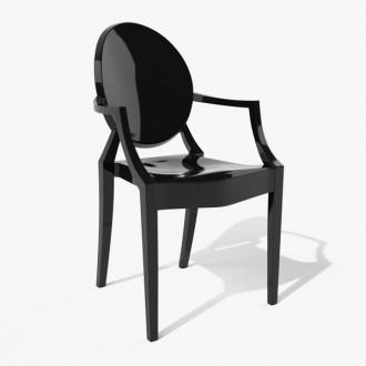 Nowoczesne krzesło Louis Ghost
