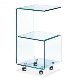 Stolik szklany Six