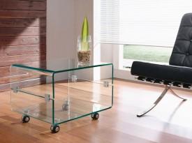 Nowoczesny stolik szklany Panorama Mini