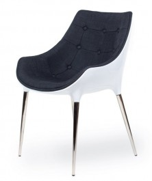 Nowoczesny fotel Philippe Passion tkanina